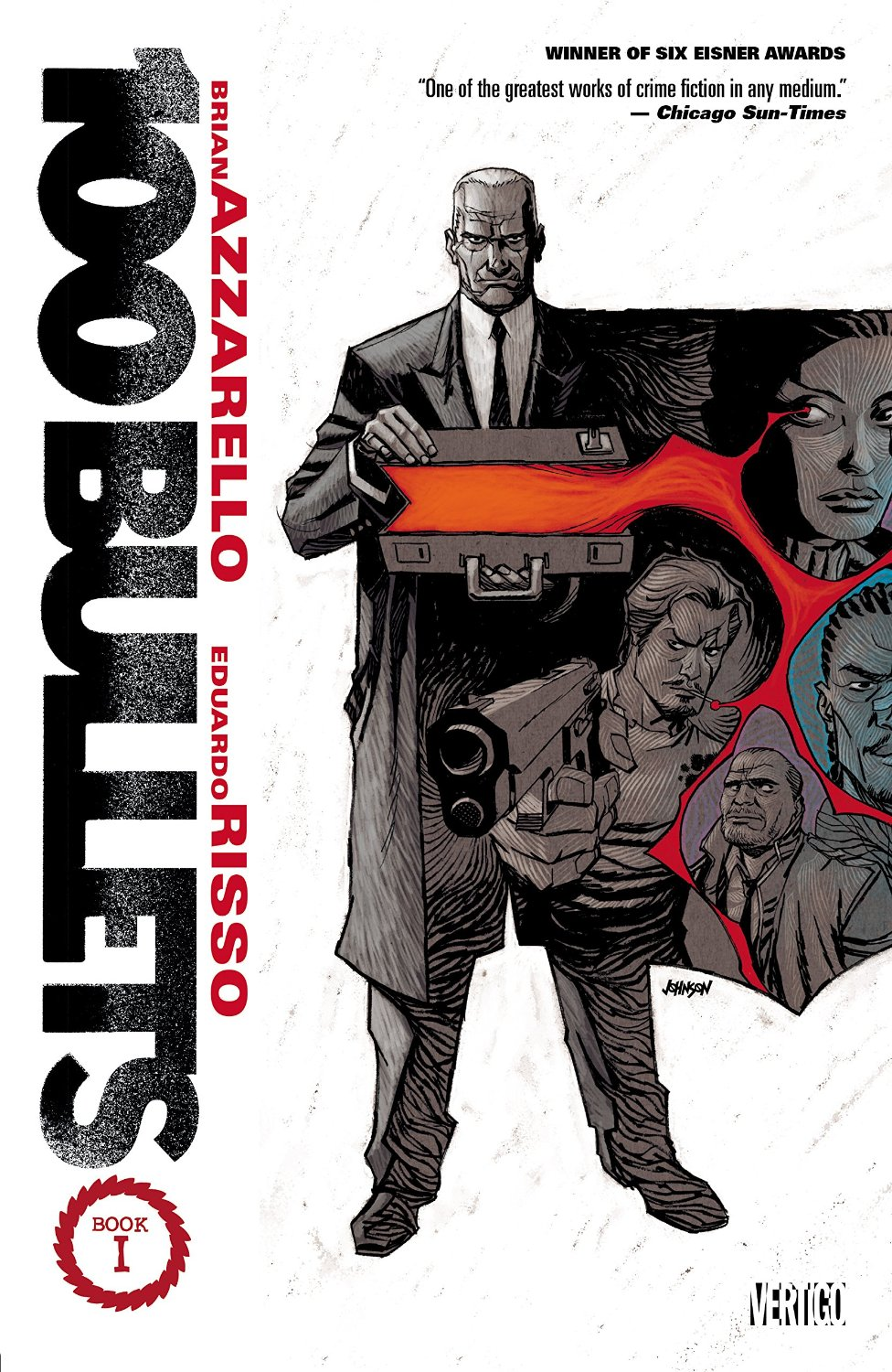 100 Bullets Book 1 (Deluxe Edition) TPB