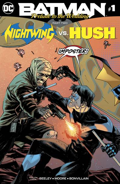 Batman Prelude To The Wedding Nightwing Vs Hush