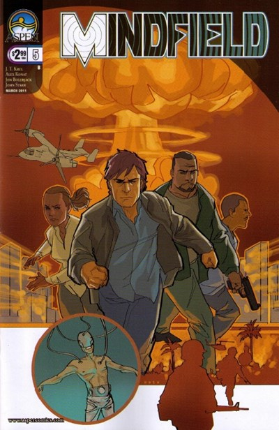 Mindfield 5 Cover B Phil Noto