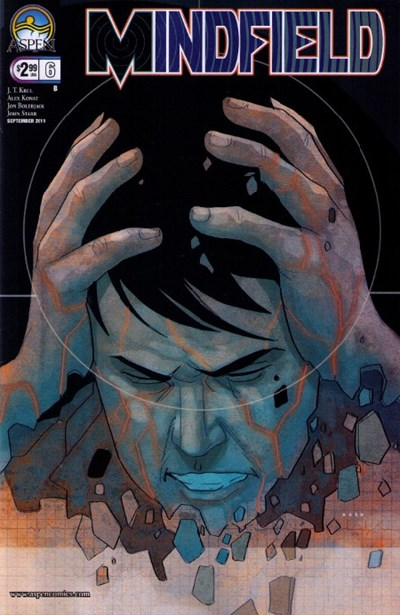 Mindfield 6 Cover B Phil Noto