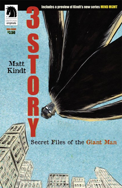 3 Story: Secret Files of the Giant Man (One Shot)
