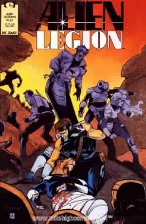 Alien Legion (Vol 2)