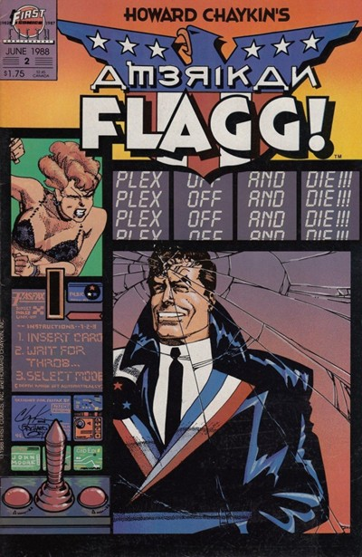 American Flag (Howard Chaykin