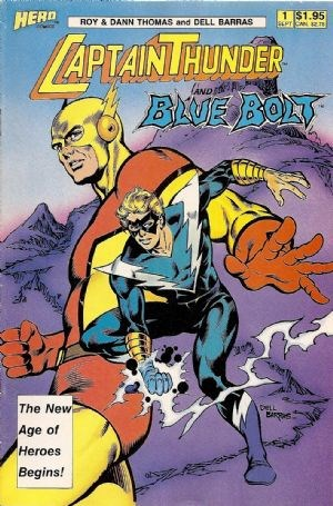Captain Thunder and Blue Bolt