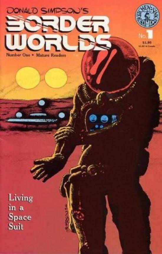 The Goblin\'s Cavern - Border Worlds*1* - Kitchen Sink Comics - Comic ...