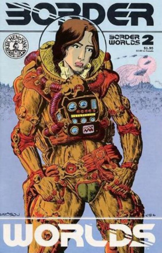 The Goblin\'s Cavern - Border Worlds*2* - Kitchen Sink Comics - Comic ...