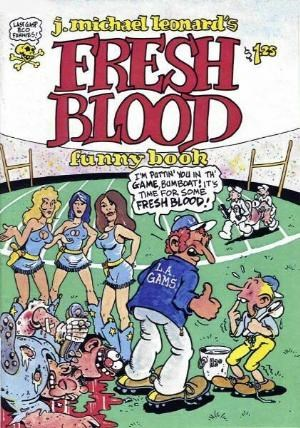 Fresh Blood Funny Book