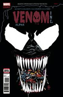 Amazing Spider-Man/Venom Venom Inc Alpha