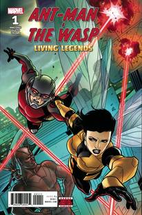 Ant-Man And Wasp Living Legends