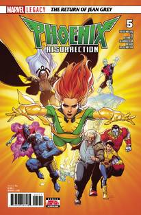 Phoenix Resurrection Return Jean Grey