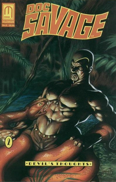 Doc Savage: The Man of Bronze Devil