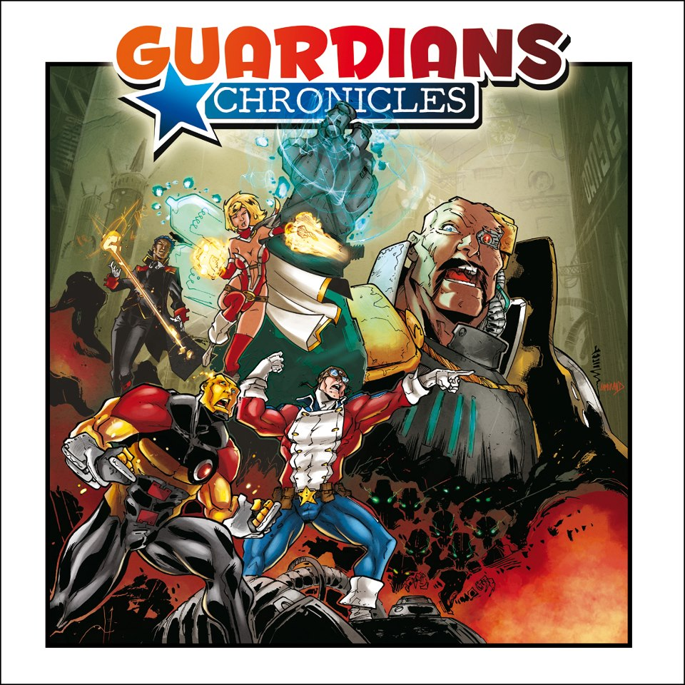 Guardians Chronicles Board Game