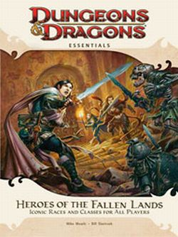 Dungeons & Dragons 4E Essentials Heroes of the Fallen Lands