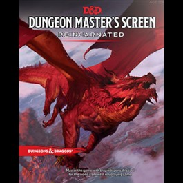Dungeons & Dragons: 5th Edition - DM Screen Reincarnated