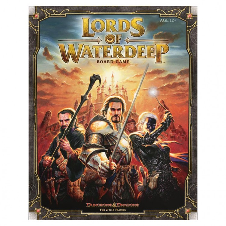 D&D: Lords of Waterdeep Boardgame