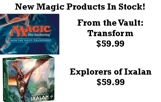From the Vault and Explorers of Ixalan Release