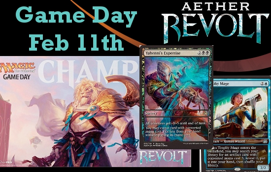 Aether Revolt Game Day Feb. 11th