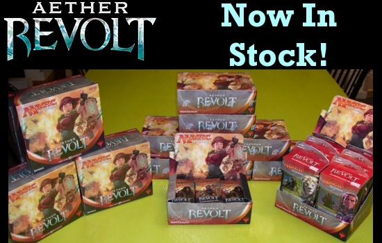 Aether Revolt In Stock!