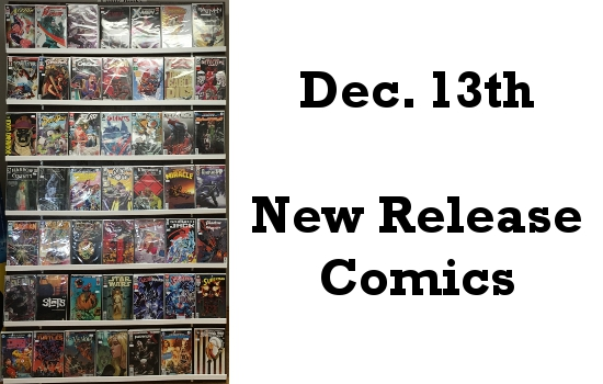 Dec 13th New Release Comics