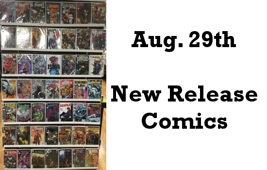 Aug 29th New Release Comics
