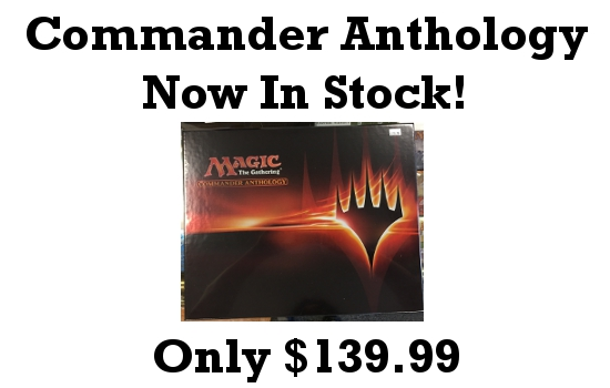 Commander Anthology Now In Stock