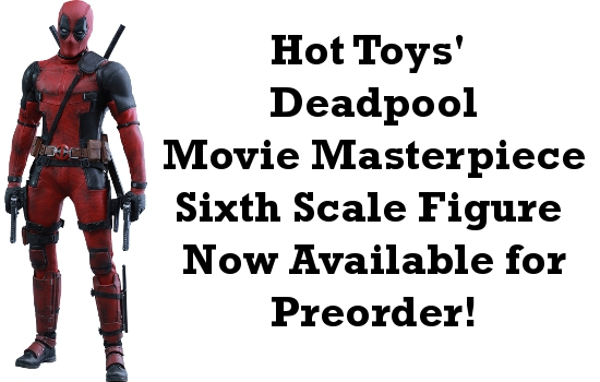 Deadpool Sixth Scale Figure Available for Preorder