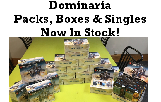 Dominaria Now In Stock