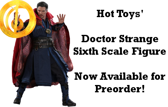 Doctor Strange Sixth Scale Figure Available for Preorder
