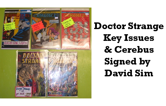 Doctor Strange Key Issues & Signed Cerebus