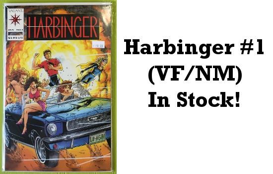 Harbinger #1 In Stock