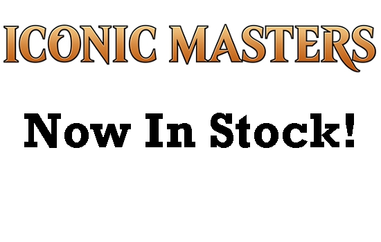 Iconic Masters Now In Stock