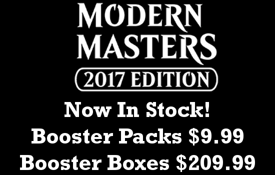 Modern Masters 2017 Now In Stock!