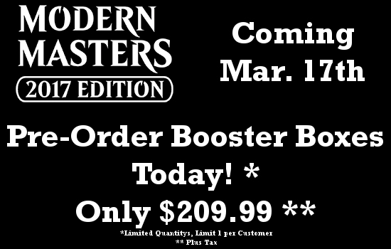 Modern Masters 2017 Release Mar 17th