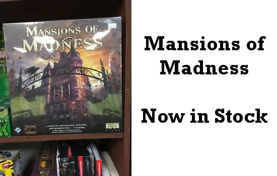 Mansions of Madness Now in Stock