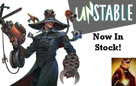 Unstable Now In Stock!