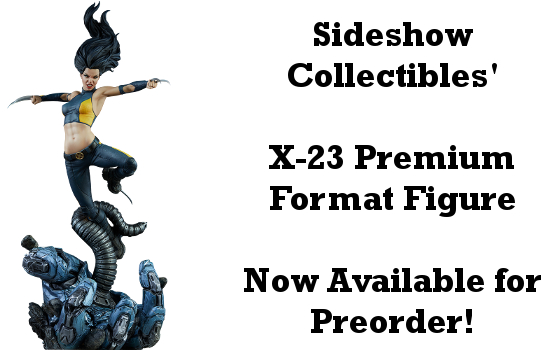 X-23 Premium Format Figure Available for Preorder