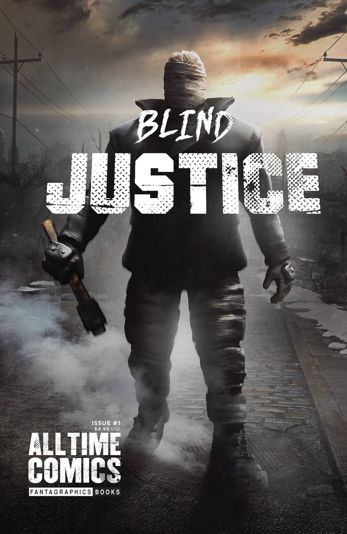 All Time Comics Blind Justice