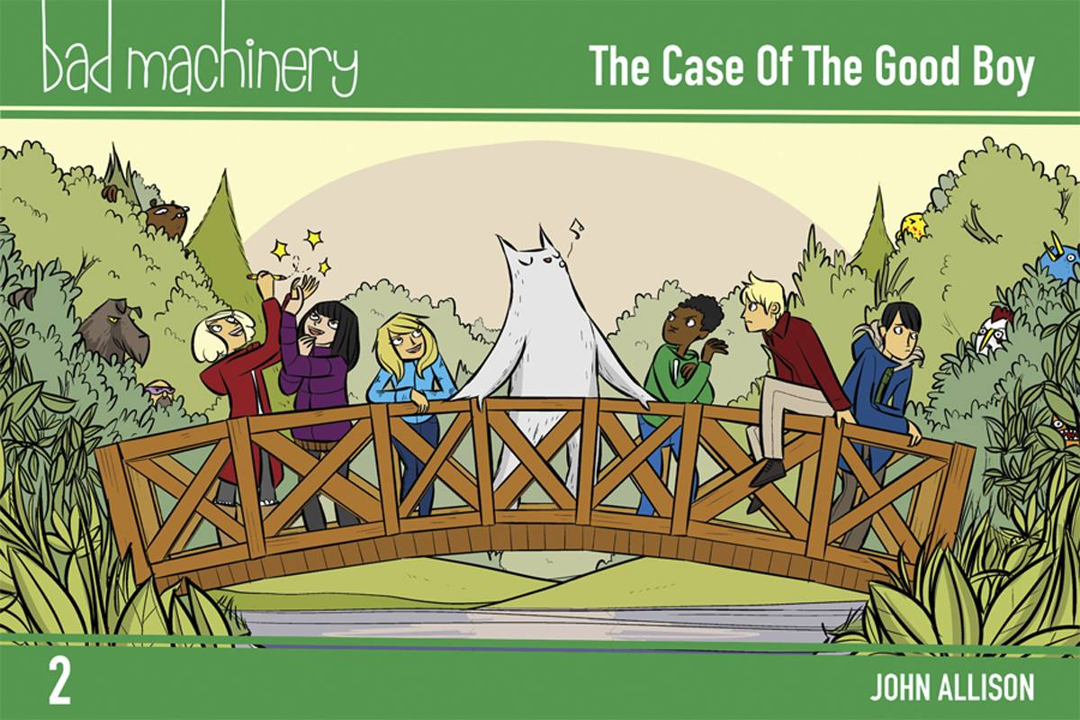 Bad Machinery GN Vol 2 Pocket Ed
