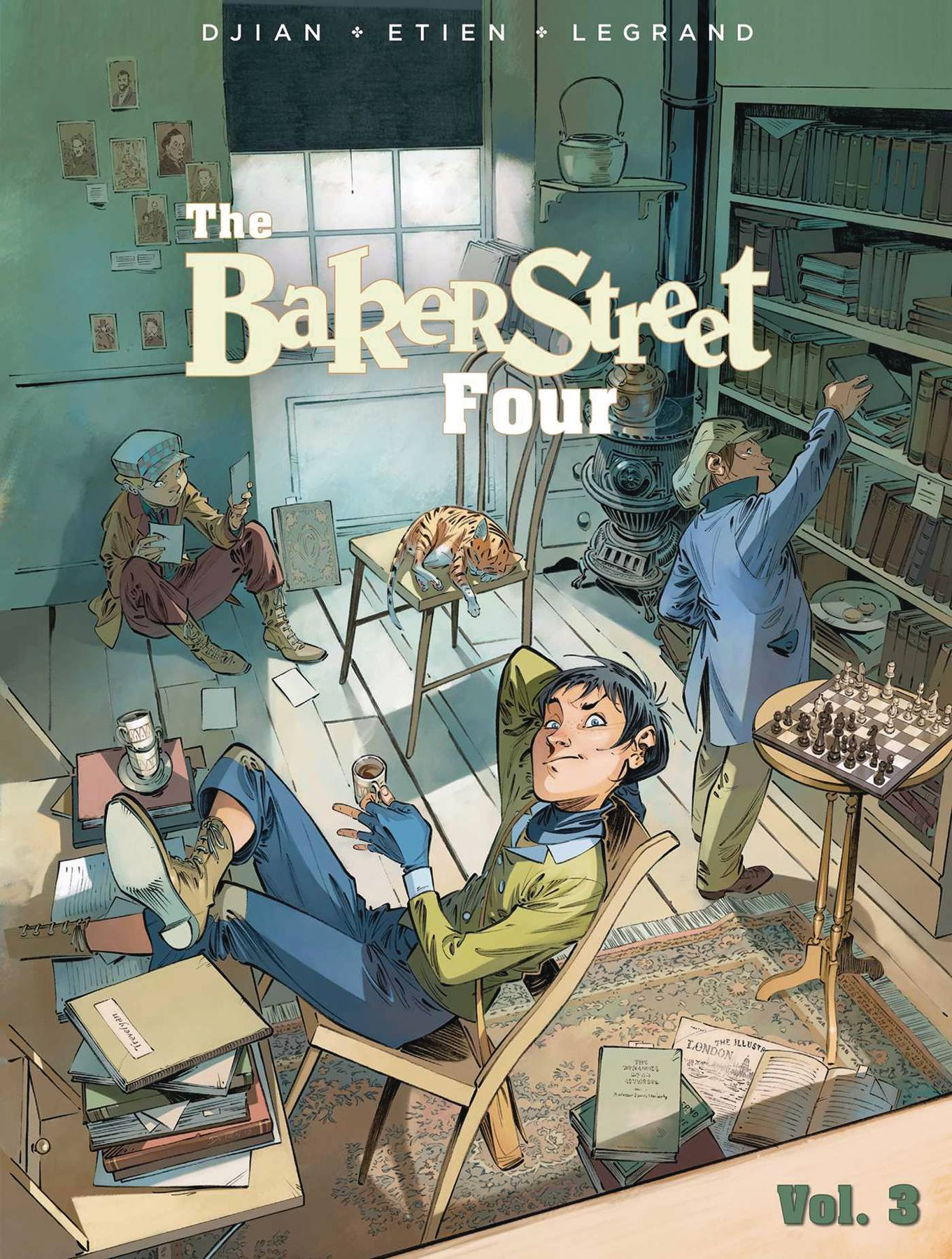 Baker Street Four GN Vol 3