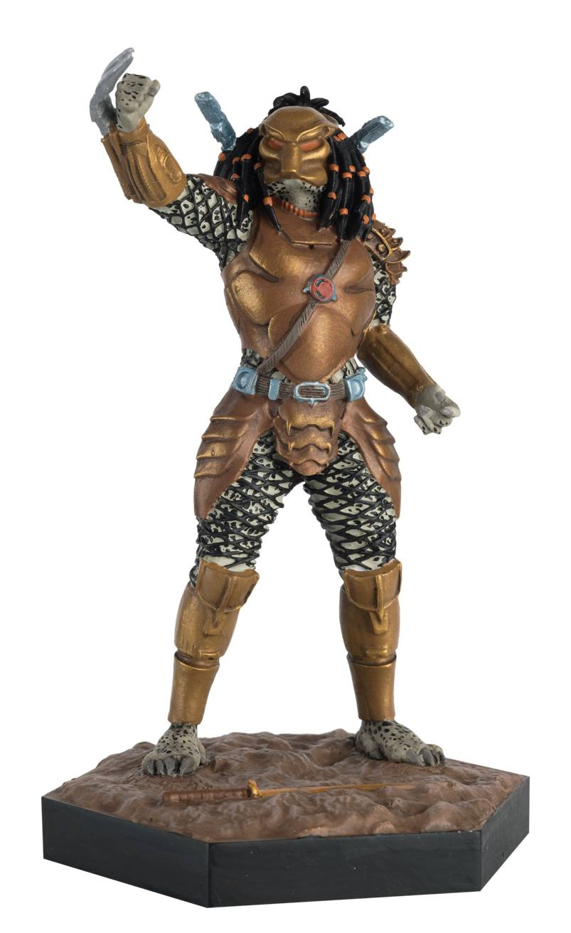Alien Predator Figure Coll #46 Top-Knot Predator From Ap War (c