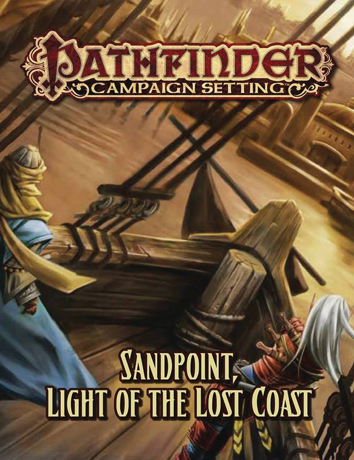 Pathfinder Campaign Setting Sandpoint Light of Lost Coast
