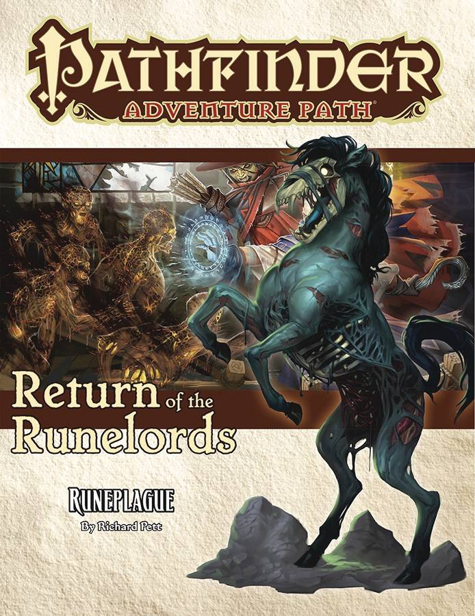Pathfinder Adv Path Return of Runelords Part 3 of 6 SC