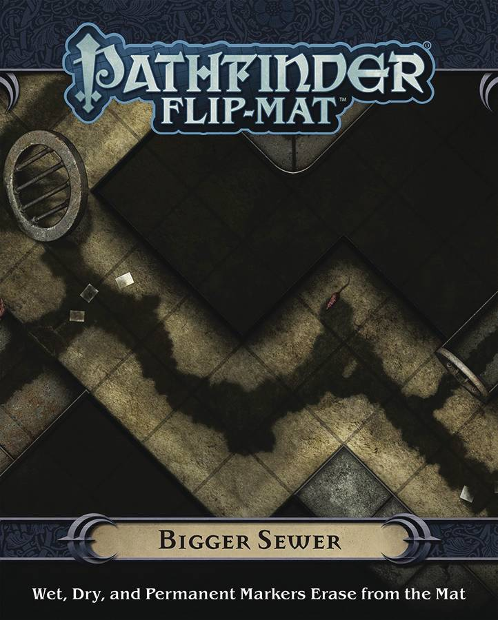 Pathfinder Flip Mat Bigger Sewer