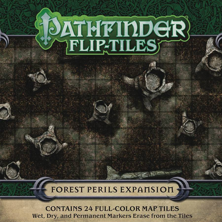 Pathfinder Flip-Tiles Forest Perils Expansion
