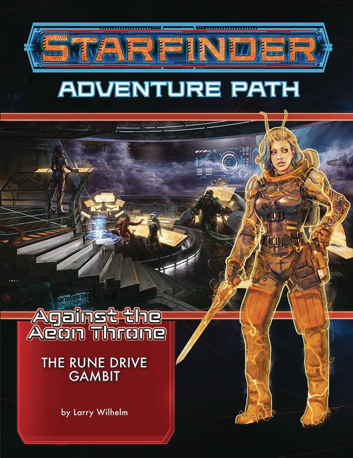 Starfinder Adv Path Rune Drive Gambit Aeon Throne 3 of 3