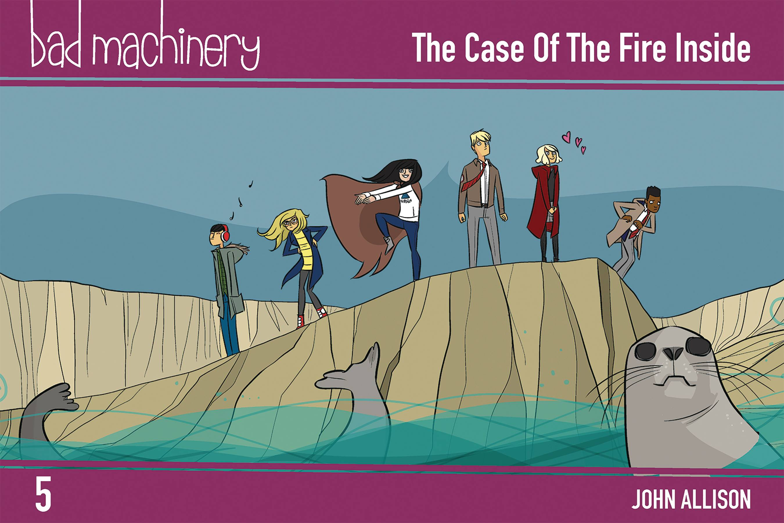 Bad Machinery Pocket Ed GN Vol 5