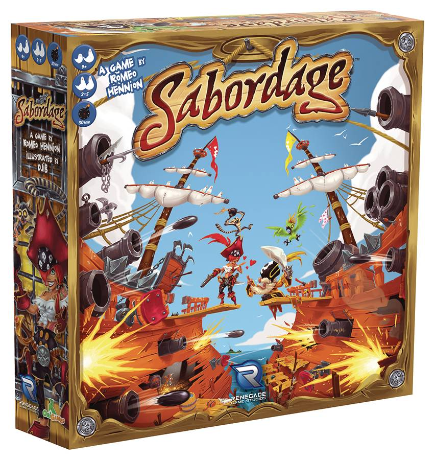 Sabordage Tile Game