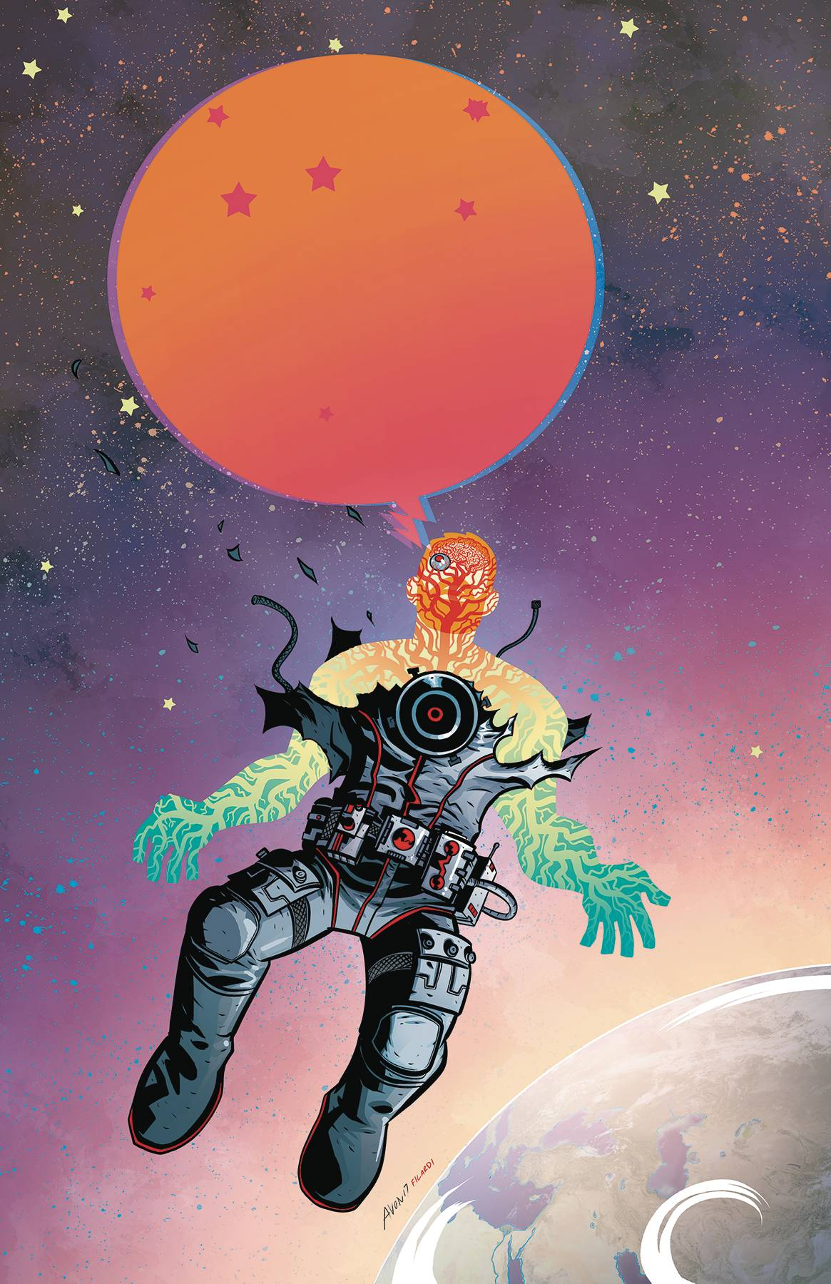Cave Carson Has An Interstellar Eye
