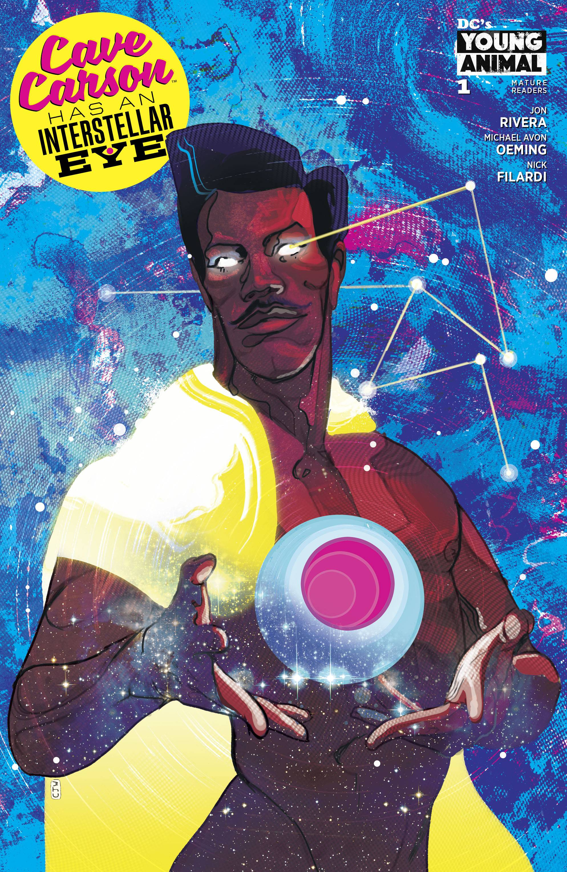 Cave Carson Has A Interstellar Eye