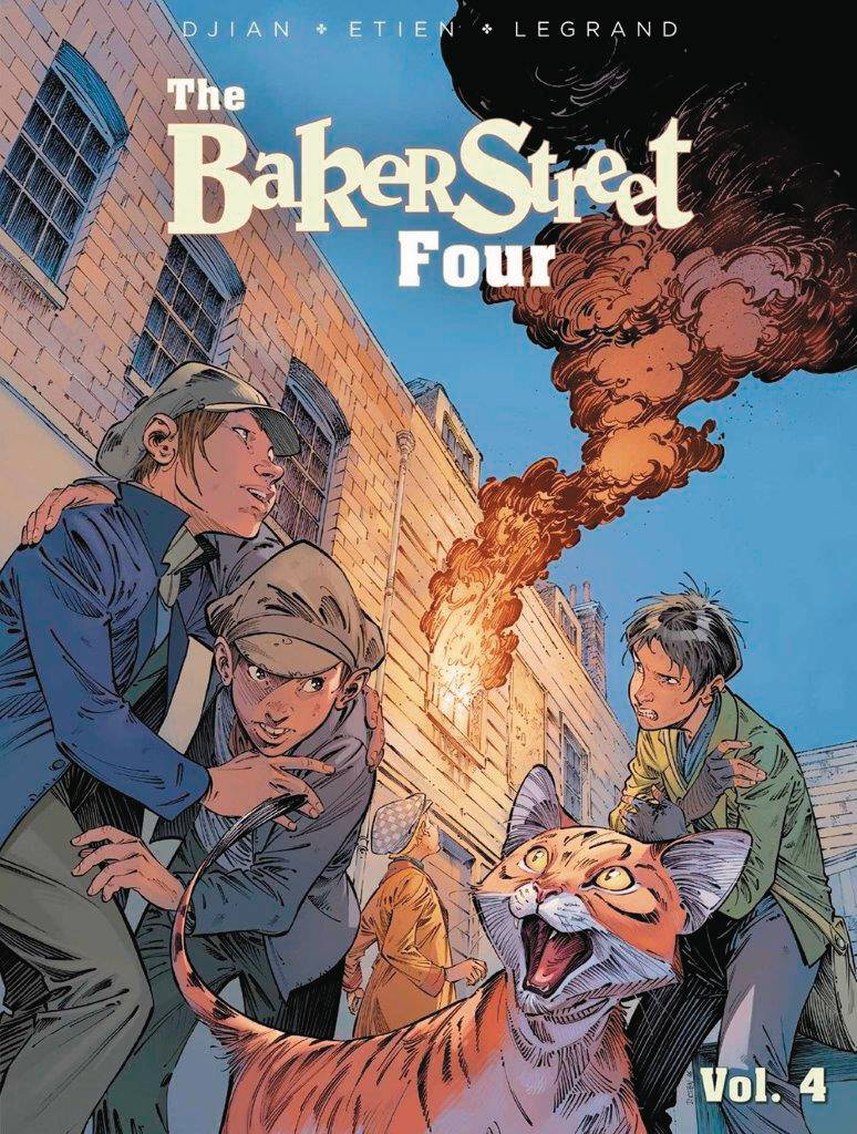 Baker Street Four GN Vol 4
